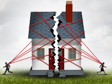 Property settlement during divorce, nrihelpinfo