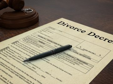 Divorce Decree, After Divorce, Legal Actions, court